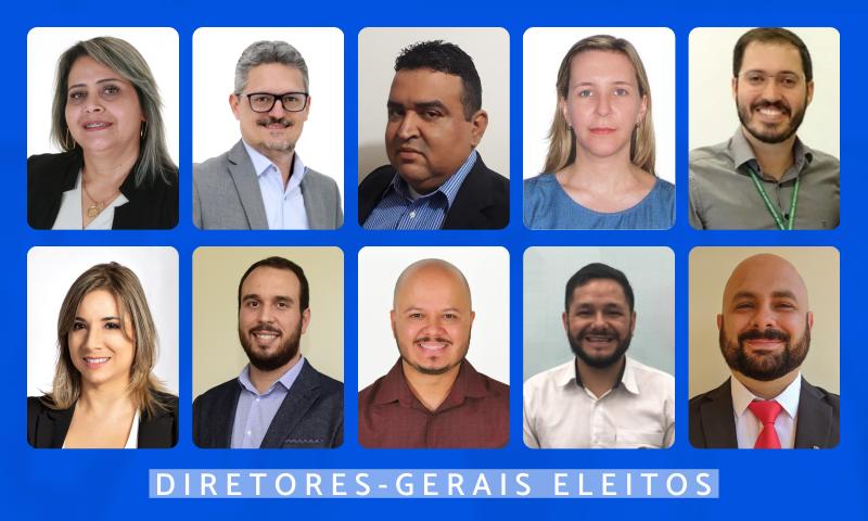 diretores-gerais eleitos