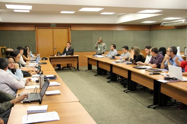 Reunião do Colégio de Dirigentes no dia 04 de maio de 2016.