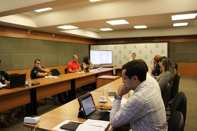 Reunião realizada no mês de fevereiro