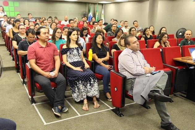 Semana do Servidor do IFMS realizada na Reitoria em 2018