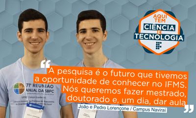 Fomento a projetos científicos muda realidade local, proporciona oportunidade de desenvolvimento a estudantes do IFMS e leva outras escolas a fazer ciência.