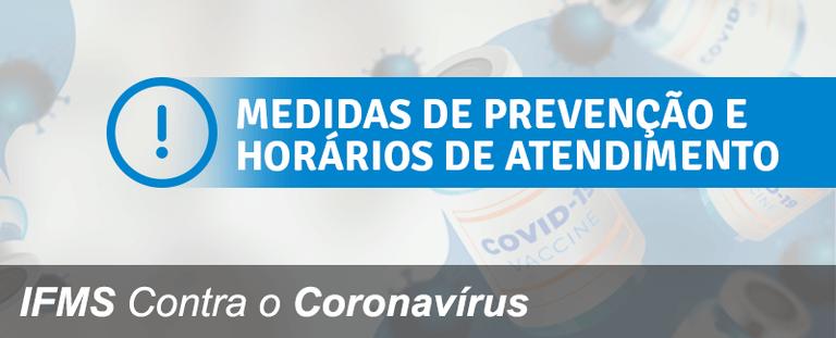 IFMS Contra o Coronavírus: Prosseguir