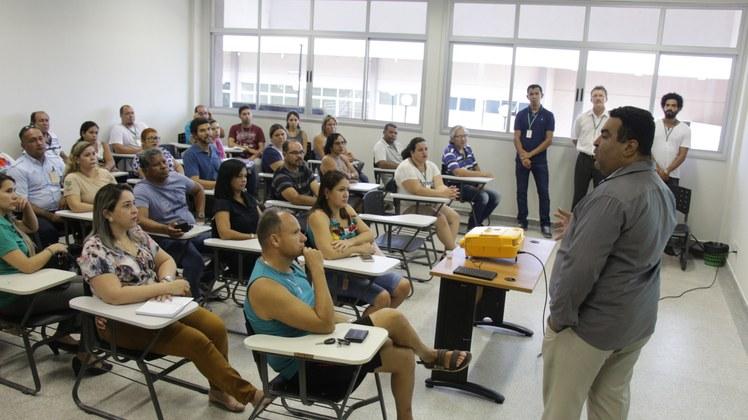 Primeira reunião com os pais dos estudantes do IFMS Campus Corumbá.