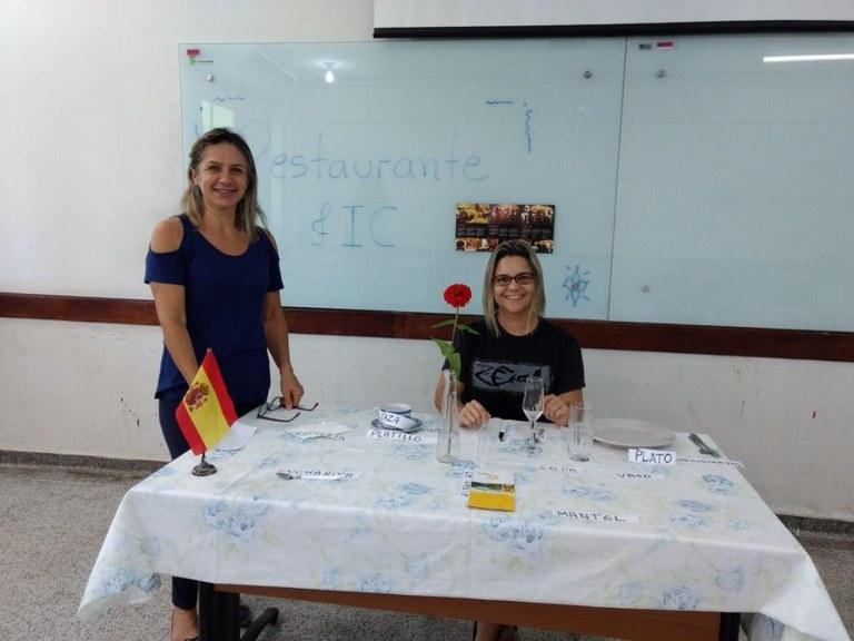 Encenação dos estudantes