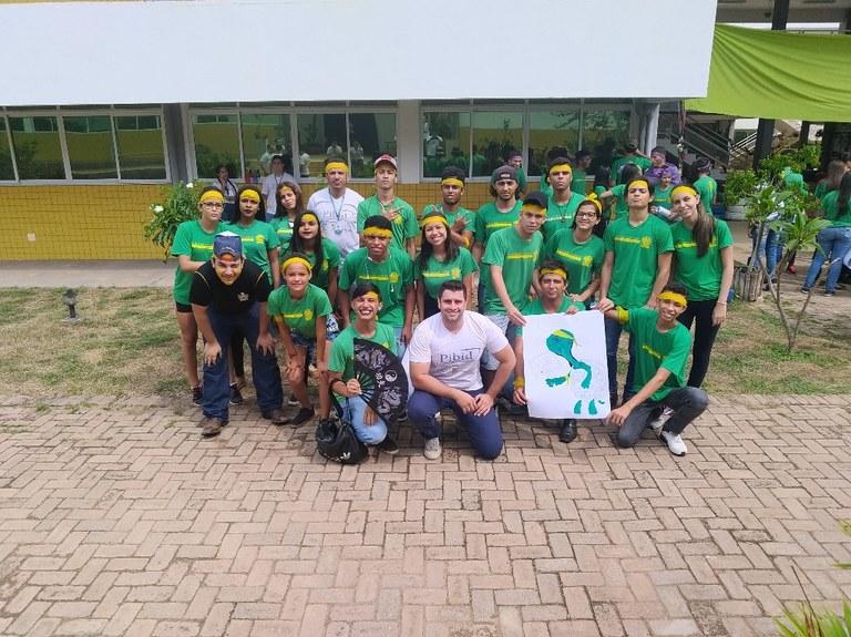 Equipe de alunos
