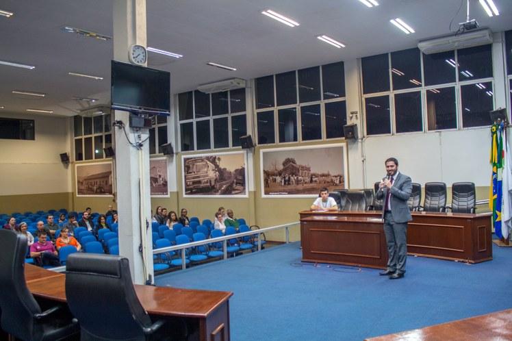 Audiência Pública sobre o PDI na Câmara de Vereadores