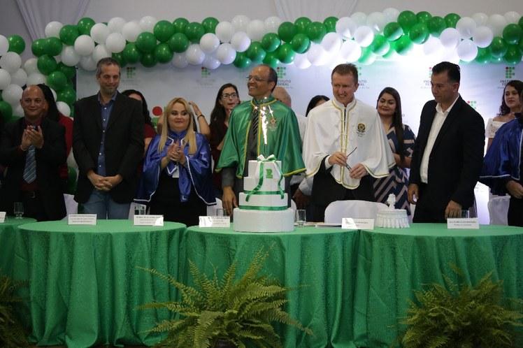 Cerimônia de 10 Anos do IFMS e Diplomação