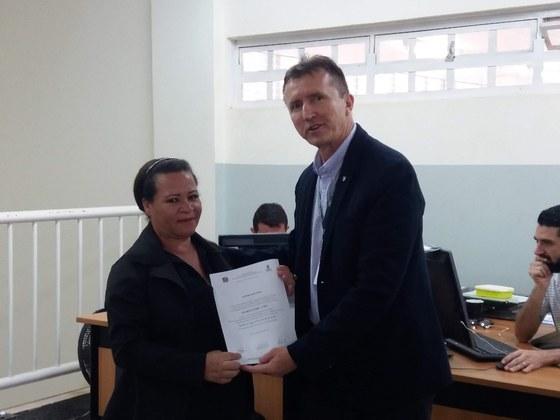Entrega de Certificado de Conclusão de Curso