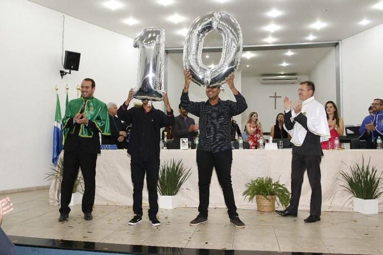 Comemoração 10 anos IFMS