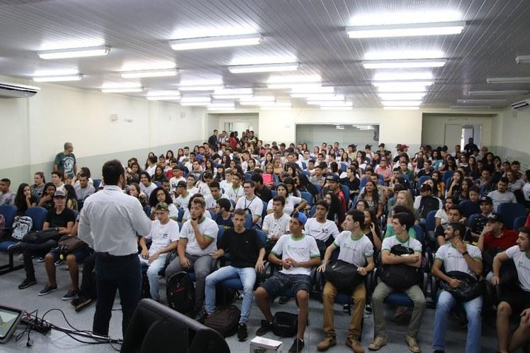 Recepção estudantes 2019