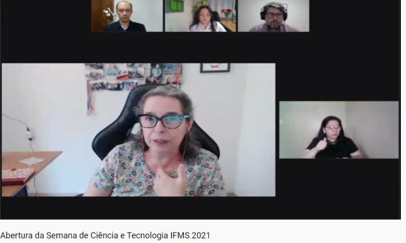 Abertura da Semana de Ciência e Tecnologia 2021