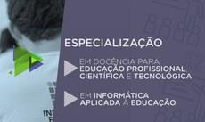 Oferta é para os municípios de Campo Grande e Corumbá. Inscrições devem ser feitas até 20 de julho, pela internet.