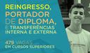 Reingresso, Portador de Diploma e Transferências Interna e Externa