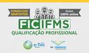 Cursos de qualificação profissional do IFMS