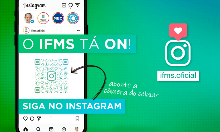 Instagram do IFMS