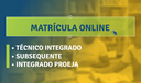 Matrícula online de cursos técnicos