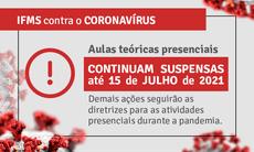 Decisão segue recomendações da comissão que analisa periodicamente a situação de pandemia no Estado.