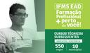 Cursos técnicos subsequente a distância do IFMS