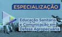 Especialização em Educação Sanitária e Comunicação em Defesa Agropecuária