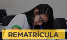 Pela primeira vez, rematrícula é feita de forma online no Campus Campo Grande. Nos demais campi, os estudantes devem se matricular presencialmente para o segundo semestre.