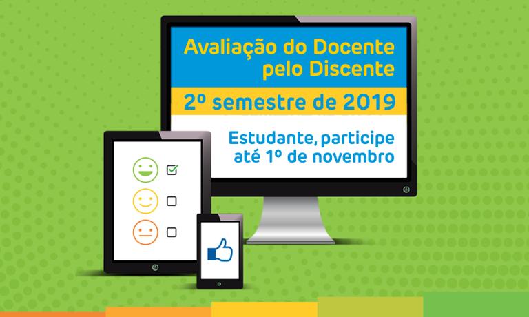 Avaliação Docente pelo Discente 2019.2
