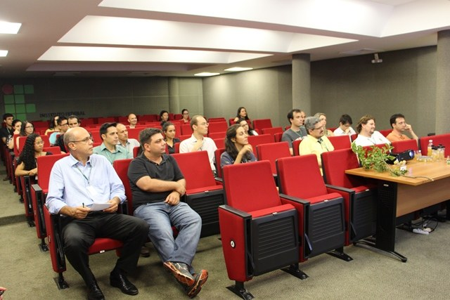 A palestra faz parte da Semana de Mobilização fomentada pelo MEC - Foto: Ascom/IFMS