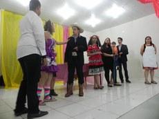 """Evento foi encerrado com a peça """"Noite de Natal na roça"""", encenada pelo grupo teatral do campus IFenceNA"""