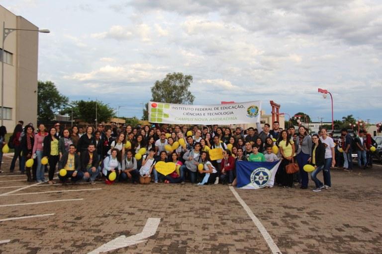 Setembro Amarelo do Campus Nova Andradina