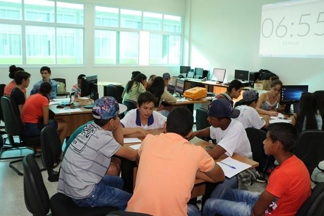 Maker Day contou com 40 estudantes participantes - Foto: Campus Ponta Porã