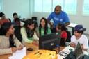 O professor Celso Costa também participa da realização do Maker Day no município - Foto: Campus Ponta Porã