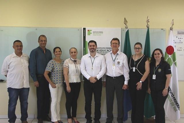 Reitor se reuniu com representantes de três municípios em encontro no Campus Dourados - Foto: Ascom/IFMS