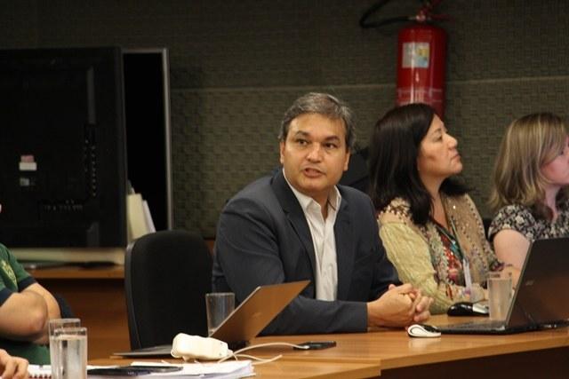 Luciano Toledo, diretor-presidente da Fundação de Apoio ao IFES, fala sobre o trabalho desenvolvido - Foto: Ascom/IFMS