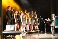 Apresentação foi no Teatro Sesc Horto na noite dessa segunda-feira, 11