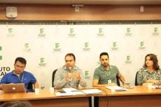 Conselho é presidido pelo pró-reitor de Ensino, Delmir Felipe