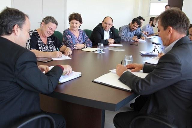 Segunda reunião do colegiado foi realizada nessa segunda-feira, 8 - Foto: Ascom/IFMS
