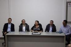 Reunião foi realizada na sede da UFGD, em Dourados, nessa segunda-feira, 11. Dirigentes também traçaram planejamento de ações para 2018.