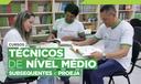 Cursos Técnicos de Nível Médio - Subsequentes e Proeja