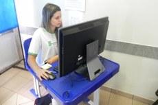 Eleitores usaram sistema eletrônico para votar