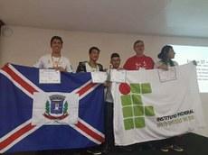 Estudantes do Campus Ponta Porã venceram a competição este ano