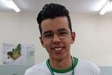 Rafael foi escolhido para participar de Parlamento Jovem - Foto: Campus Naviraí