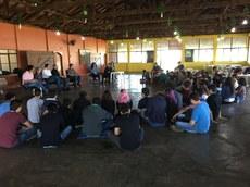 Atividade reuniu estudantes do campus no sábado, 28, pela manhã