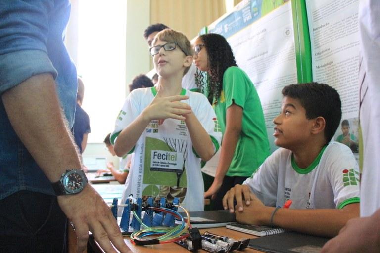 Feira de Ciência e Tecnologia de Três Lagoas 2017