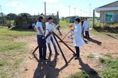 Equipe Frontier Rocket foi a que conseguiu o maior lançamento