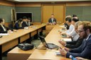 Reitor apresentou dados históricos e atuais do IFMS - Foto: Ascom/IFMS