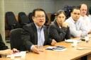 Pró-reitor de Pesquisa, Marco Naka, tratou sobre alguns projetos desenvolvidos na instituição - Foto: Ascom/IFMS