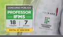 Concurso Público para Docentes do IFMS