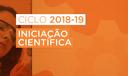 Iniciação Científica Ciclo 2018-2019