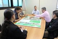 Ordem de serviço para a implantação de usina foi assinada no Campus Campo Grande nessa terça-feira, 20