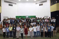 No total, 64 estudantes participam do evento