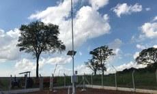O Campus Nova Andradina cedeu a área para que a estação meteorológica pudesse ser instalada no município